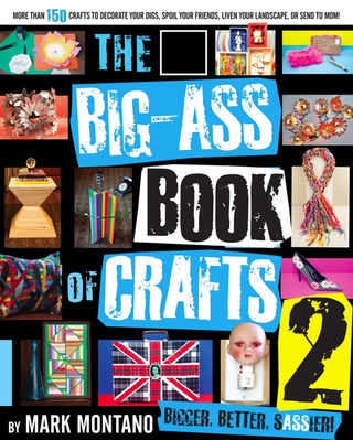The winner of a free copy of Mark Montano's new book Big Ass Book of Craft 2 ...