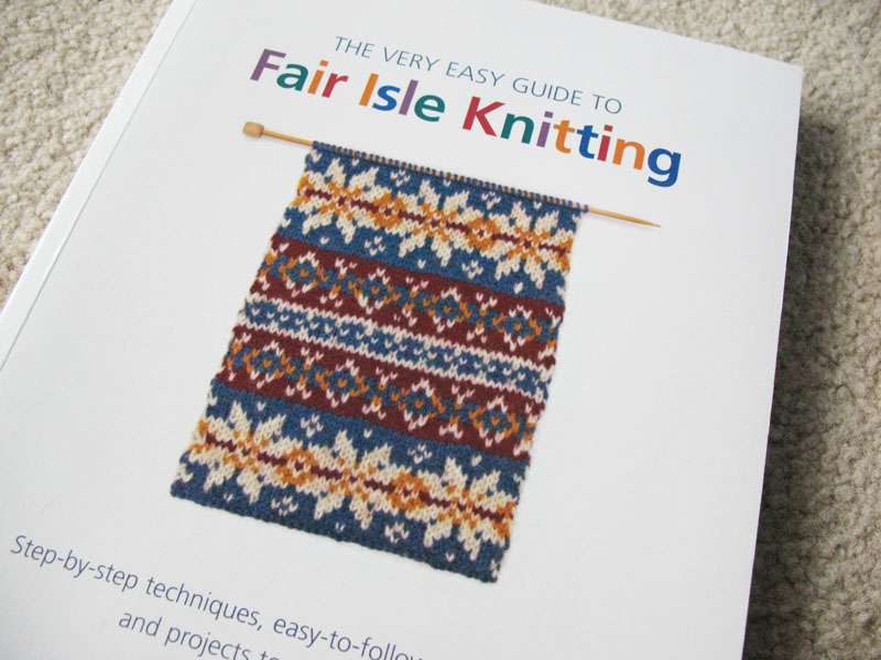 Review: Very Easy Guide To Fair Isle Knitting (Pulp Sushi - Handmade Jewelry )