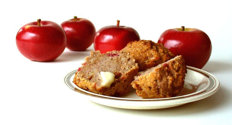 Apple Flax Muffin