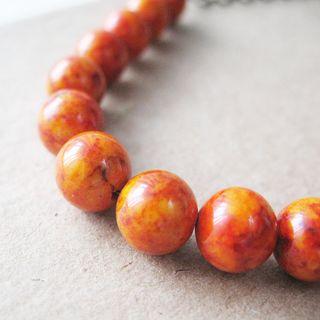 Fire_orange_bead_necklace