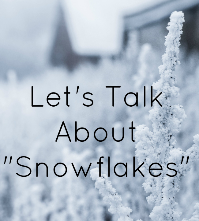Let's Talk About Snowflakes