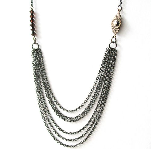Multi-Strand Chain Necklace by Pulp Sushi