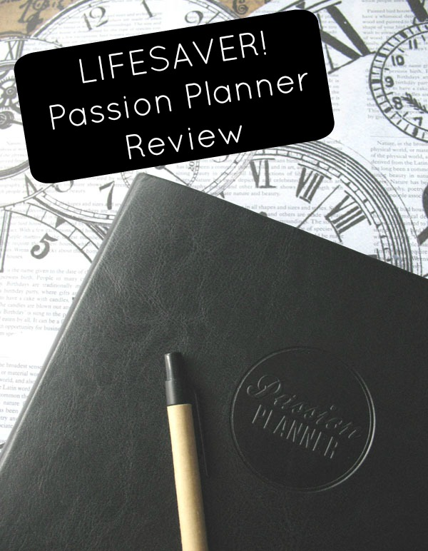 Planning With A Purpose: My Passion Planner Review