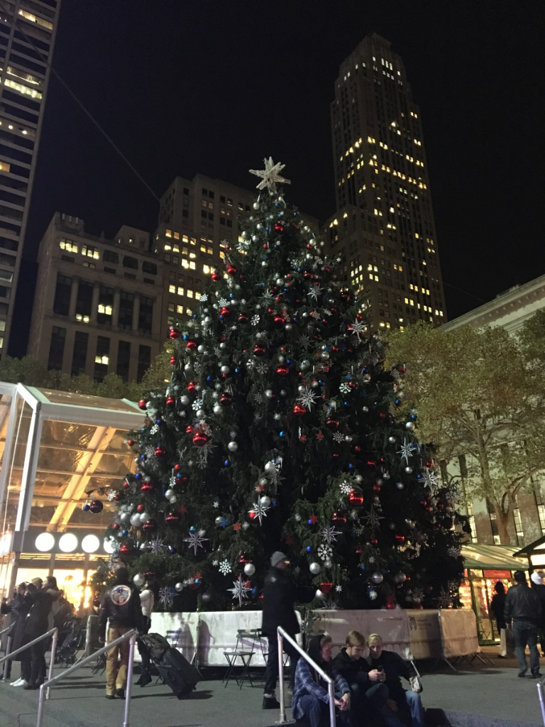 Winter Village Bryant Park NYC