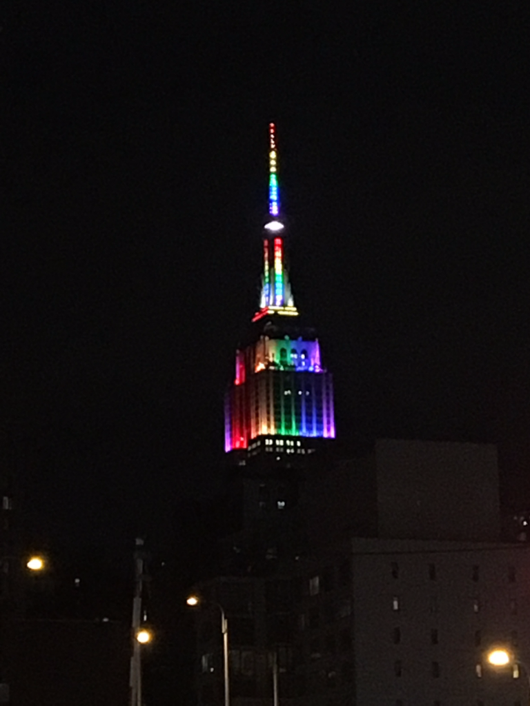 Empire State Building - NYC Pride Celebration